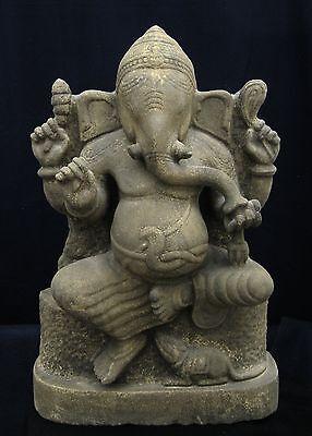 Khmer/Thai Peninsular Stone Ganesh 10th Century