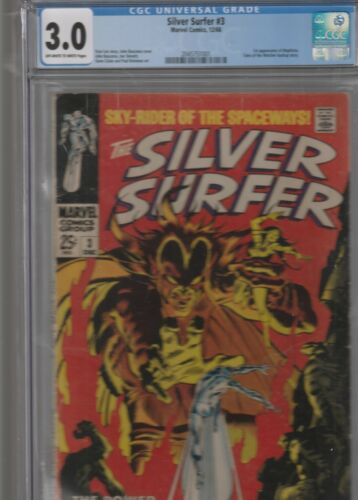 THE SILVER SURFER # 3 CGC 3.0