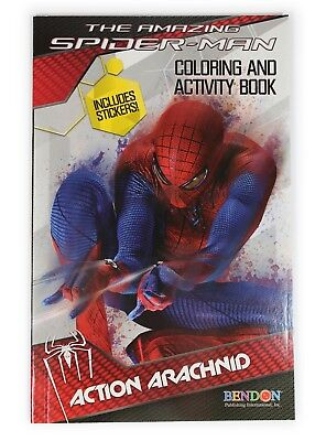 Spiderman Coloring Book , Activity Pages & Stickers Spidey Sense For - Spiderman Coloring Book