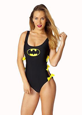 DC COMICS Batgirl Batman Beach Bow Monokini Juniors Sexy Bathing Suit S-XL New](Juniors Monokini)