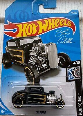 2019 Hot Wheels '32 Ford Steve Caballero Rod Squad Brand New!