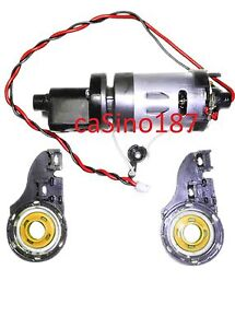 ~ Roomba Discovery Brush Motor + Gearbox Assembly 400 4210 4220 4230 405 415