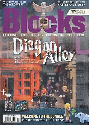 Blocks Magazine Lego November 2020 Diagon Alley Harry Potter Wild West Friends