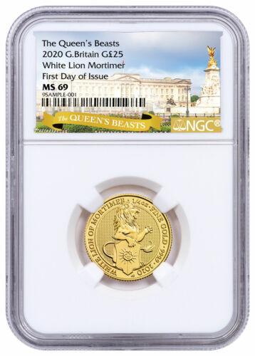 2020 Britain 1/4oz Gold Queen