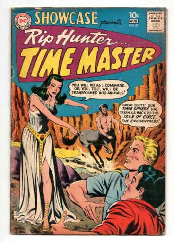 Showcase Presents #21 (1956 Series) 2nd Rip Hunter DC August 1959 GD