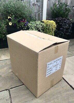 25 double wall good size, cardboard brown boxes! Removal, storage, moving house