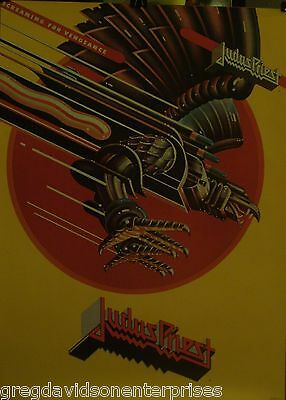 Judas Priest 22x28 Screaming For Vengeance Cover Art 1984 Poster