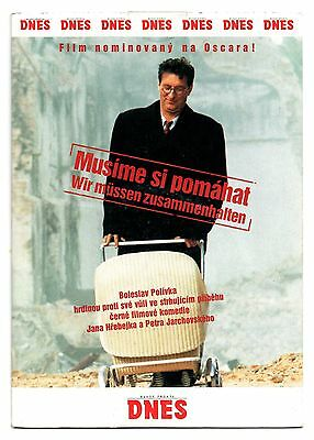 Musime Si Pomahat  Divided We Fall  Dvd 2000 Czech Film Nominated For Oscar