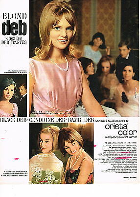 publicite advertising 1964 garnier cristal color shampoing colorant blond deb - Shampoing Colorant Garnier