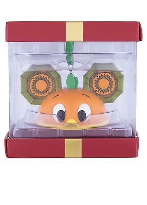 Disney Park Pack Holiday Subscription Orange Bird Ear Hat Ornament New With Box