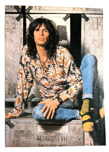 AEROSMITH / STEVEN TYLER / GREAT WHITE MAGAZINE FULL PAGE PINUP POSTER CLIPPING