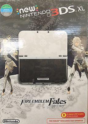 New Nintendo 3DS XL Console - Fire Emblem Fates Ltd Edition - plays USA games