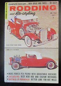 Rodding and Restyling Magazine February 1962