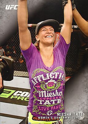 Miesha Tate Ufc 2015 Topps Knockout 10X14 Card  44   1 49 Jumbo Wall Art 196 168