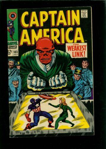 Captain America 103 VF 8.0