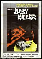 Baby Killer Manifesto Cinema Film Cohen Horror 1974 It's Alive Movie Poster 4f -  - ebay.it