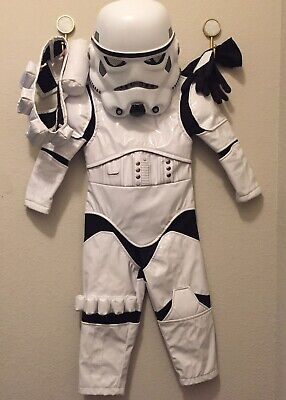 Kids Costume Storage (Disney Store Official Stormtrooper Size 2 Costume for Kids - Star)