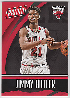 Jimmy Butler 2015 Panini National Nscc Team Colors Thick  100  Bk3 Bulls N15