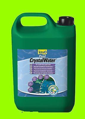 CrystalWater 3 Liter Tetra Pond schafft kristallklares Wasser im Teich