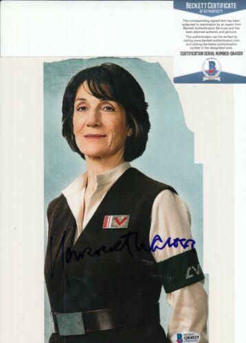 HARRIET WALTER signed (STAR WARS THE FORCE AWAKENS) 8X10 photo BAS BECKETT #2