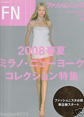 ***FN (Fashion News) DECEMBER 2007- COLLECTIONS 2008