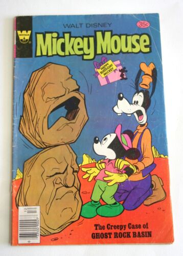 Whitman Walt Disney Mickey Mouse Comic No. 190, 1978, Bronze Age