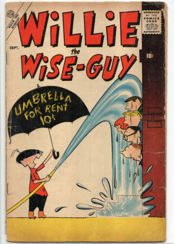 WILLIE THE WISE-GUY #1 RARE Golden Age 1957