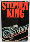 Stephen King Christine Hardcover