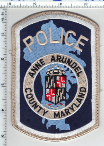 Anne Arundel County Police (Maryland) uniform take-off patch from late 1980