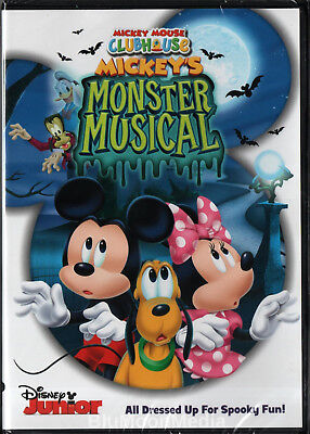 Mickey Mouse Halloween Movies (Mickey's Monster Musical DVD Mickey Mouse Clubhouse Disney Junior Halloween)