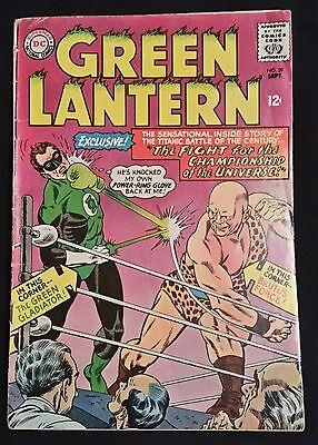 GREEN LANTERN # 39 - DC COMICS - SEPT. 1965