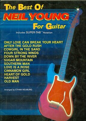 The Best Of Neil Young for Guitar songbook sheet music super tab Heart Of (Neil Young Heart Of Gold Guitar Tab)