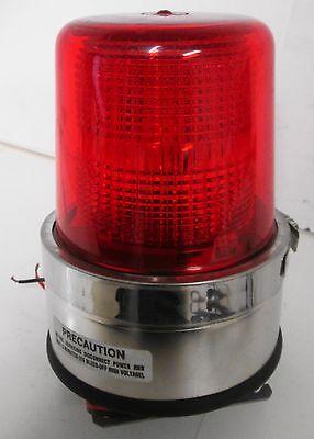 North American Signal Dfs-m1c Strobe Red 12-24v