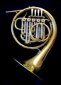 WONDERFUL-Ed-KRUSPE-FRENCH-HORN-LORENZO-SANSONE-MODEL-Bb-AStop-F-5-valves-1920