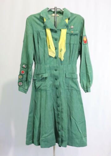 Vintage Girl Scout Uniform Patches