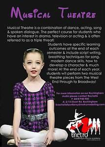 Musical theatre classes! Singing, acting & dance 7-14yrs Rockingham Rockingham Area Preview