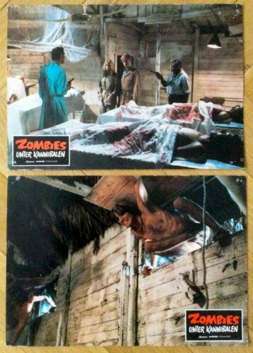 Zombie Holocaust - Dr. Butcher MD - 2 German LCs * Zombies unter Kannibalen *