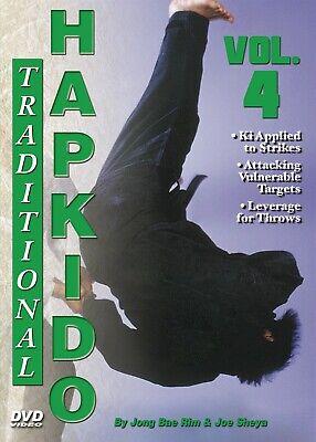 Traditional Hapkido #4 Leverage Pressure Throws Kick Blocks DVD GM Jong Bae Rim