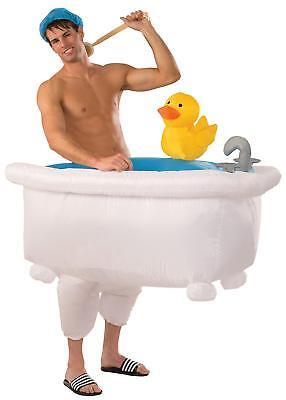 Erwachsene Spass Badewanne & Ente Illusion Aufblasbar Lustig Kostüm (Illusion Kostüme)