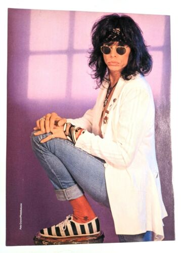 AEROSMITH / STEVEN TYLER / TESTAMENT / MAGAZINE FULL PAGE PINUP POSTER CLIPPING