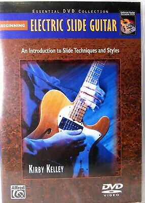 BEGINNING ELECTRIC SLIDE GUITAR (DVD) Slide Techniques & Styles by Kirby Kelley Beginning Electric Guitar Dvd