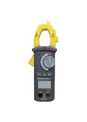 Commercial Electric Clamp Meter With Temperature 600v Acdc Voltage New