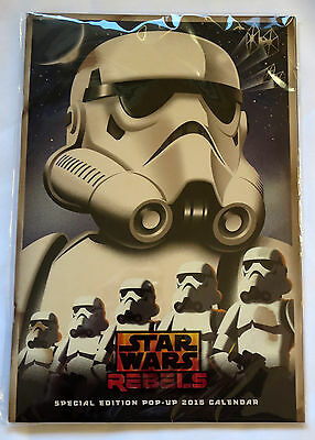 2015 Star Wars Rebels Calendar Special Edition Pop Up New Storm Troopers
