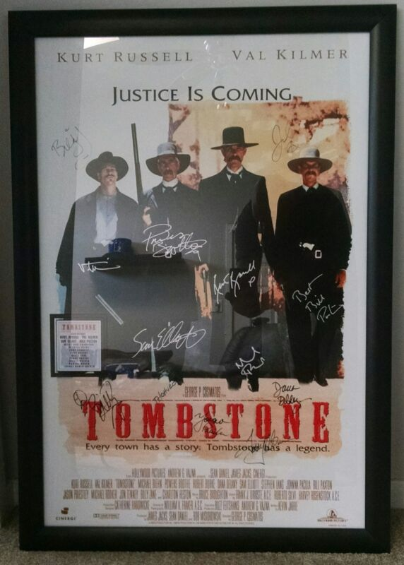 Authentic Tombstone poster