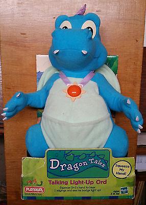 Dragon Tales Talking Light-Up Ord In Package 1999 Hasbro Playskool