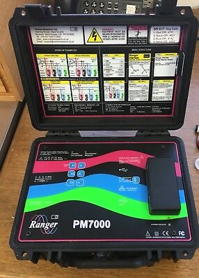 Ranger Pm7000s Power Quality Analyzer Harmonics Flicker And Waveform Monitor