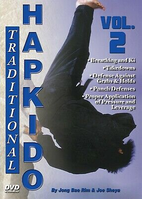 Traditional Hapkido #2 Breathing Ki Takedowns Defenses DVD GM Jong Bae Rim