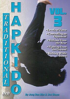 Traditional Hapkido #3 Pain Control Defenses groundfighting DVD GM Jong Bae Rim