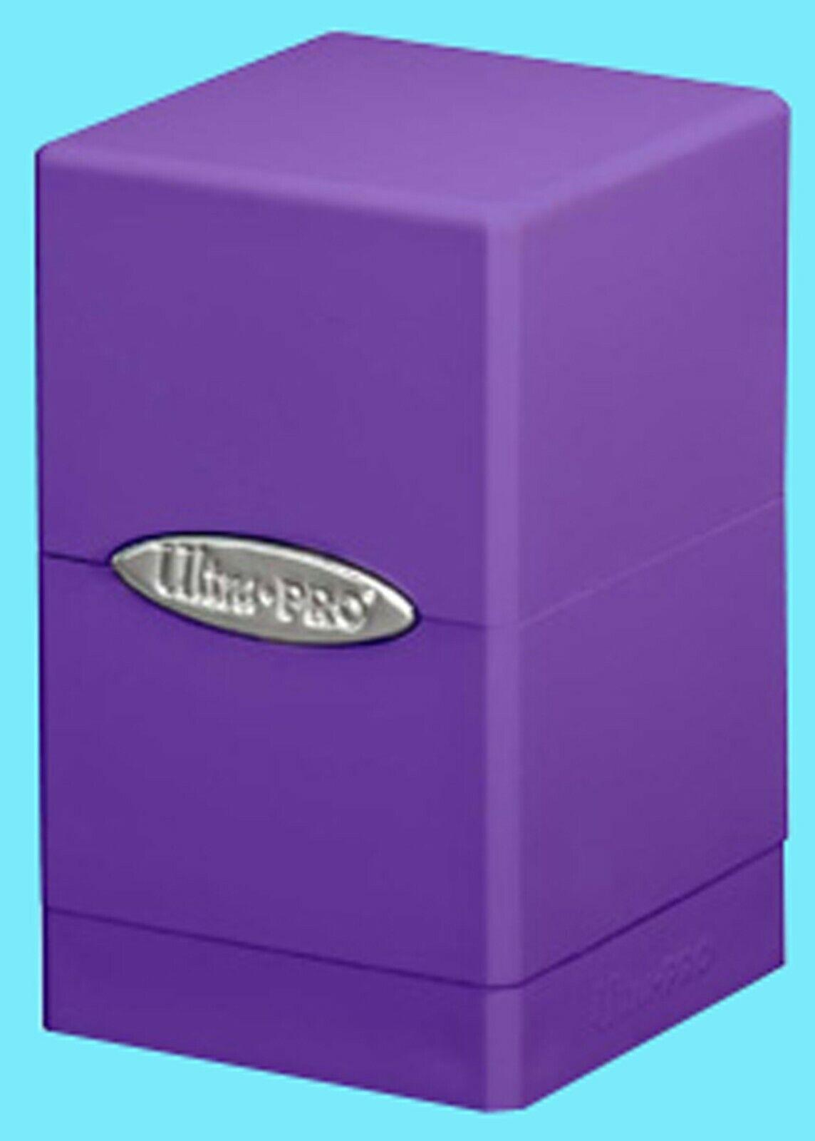 Ultra-Pro Purple Satin Tower Deck Box