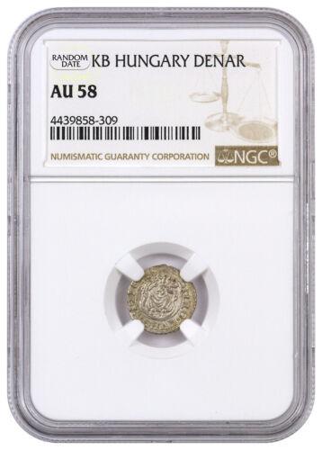 Random Date 1450-1620 Hungary Silver Denar Madonna & Child NGC AU58 SKU44480